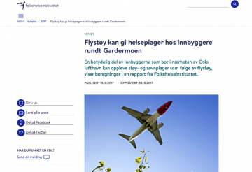 flystoey over oslo